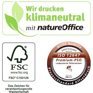 Logos Nature Office, FSC, PSO